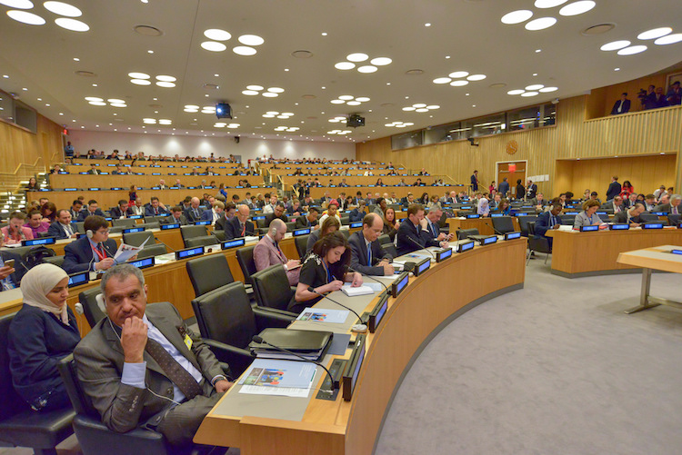 Photo: Tenth Conference on Facilitating the Entry into Force of the Comprehensive Nuclear-Test-Ban Treaty (CTBT) on 20 September 2017 in New York. Credit: CTBTO