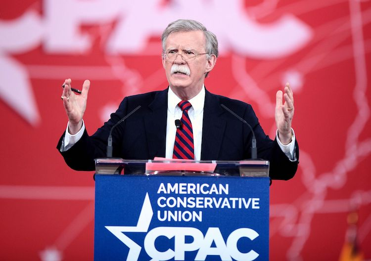 Photo: John Bolton speaking at the 2015 Conservative Political Action Conference (CPAC) in National Harbor, Maryland on February 27, 2015. Credit: CC BY-SA 2.0
