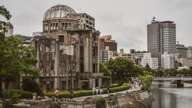 Photo Atomic Bomb Dome - Hiroshima. Photograph: Trevor Dobson / Flickr