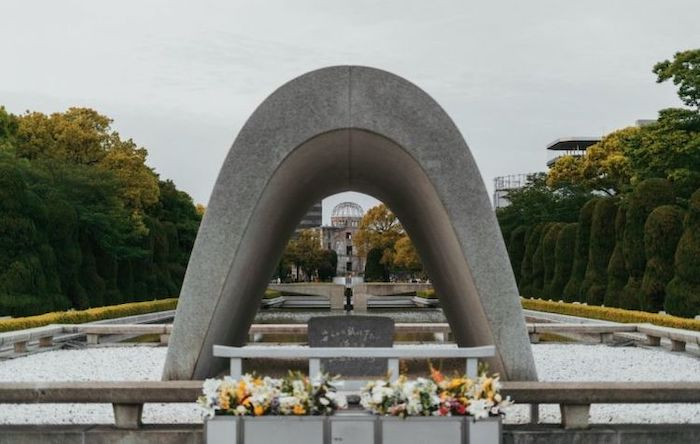 Photo: Peace Park in Hiroshima where a flame will continue to burn until there are no more nuclear weapons in the world. (Credit: Unsplash)