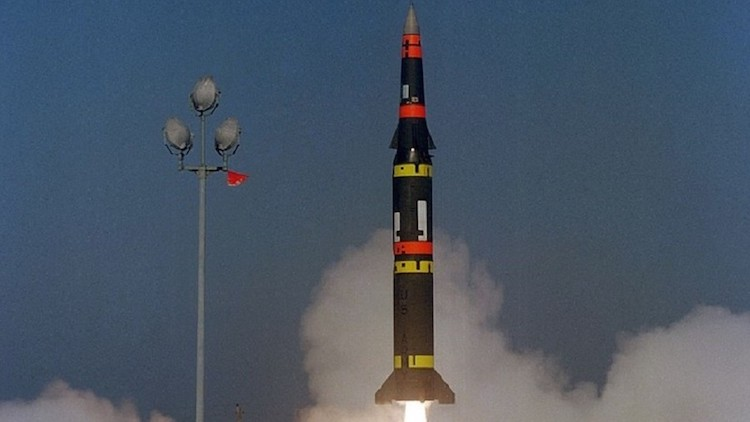 Photo: The U.S. Army launches a Pershing II battlefield support missile. Credit: Wikimedia Commons.