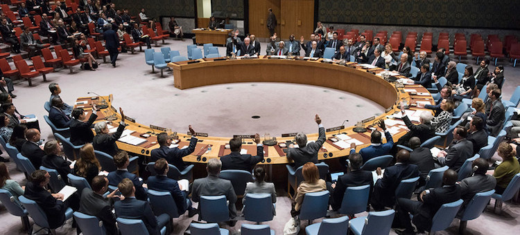 Photo: Security Council meeting on Maintenance of international peace and security,  Nuclear non-proliferation and nuclear disarmament. Credit: UN Photo/Loey Felipe
