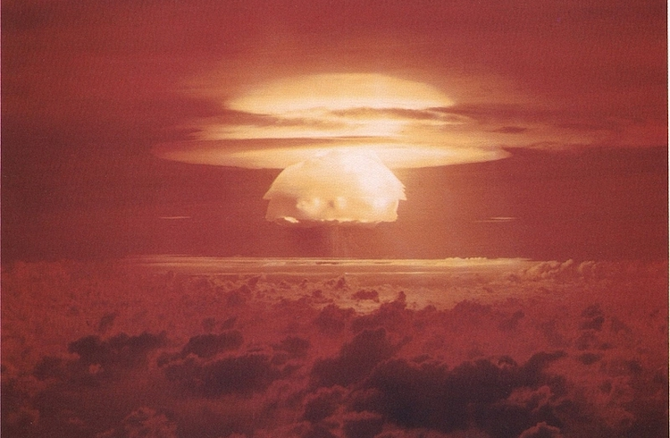 Image: The United States conducted the first in a series of high-yield thermonuclear weapon design tests, the Castle Bravo test, at Bikini Atoll, Marshall Islands, as part of Operation Castle on 1 March 1954. Credit: U.S. Department of Energy. Credit: U.S. Department of Energy.